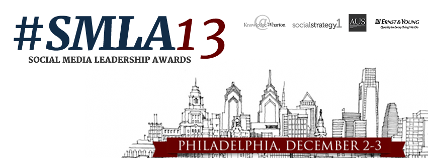 Now Accepting Entries for the 2013 Social Media Leadership Awards