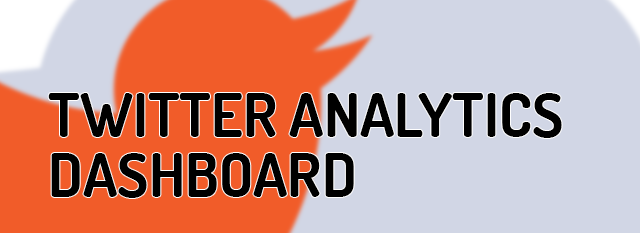 New Twitter Activity Dashboard Offers Deep Analytics