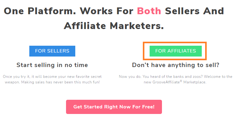 Groovefunnel Services Affliate Marketers