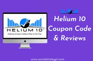 Helium 10 Coupon Code